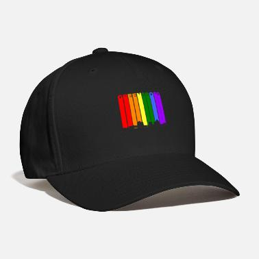 Pride Greensboro Skyline Rainbow Gay Pride - Baseball Cap