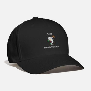 Fun Tornado Cute Dad's Little Tornado Kids - Baseball Cap