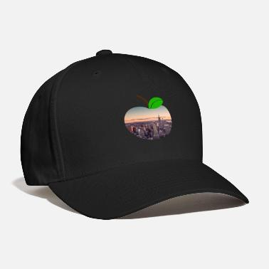 Apple Manhattan Neighborhood New York Big City Apple - Baseball Cap