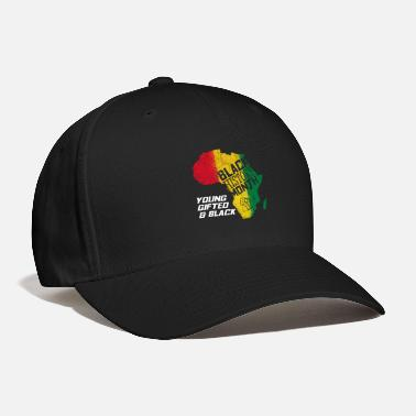 Black History Black History Month Young Gifted and Black Gift - Baseball Cap
