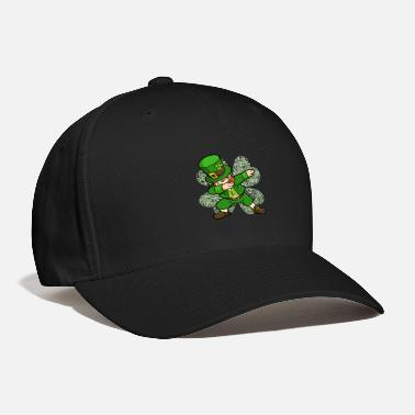 St Patricks Day Dabbing Leprechaun Clover Irish - Baseball Cap
