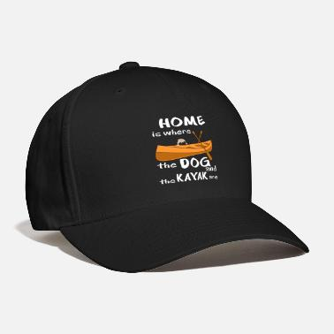 Poldikajak Kayak Canoe Paddle Boat Rowing Canoe Dog Pug House - Baseball Cap
