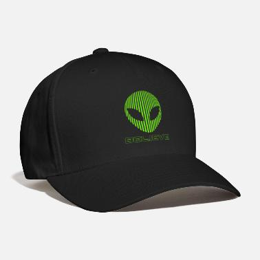 Alien Alien Believe science - Baseball Cap