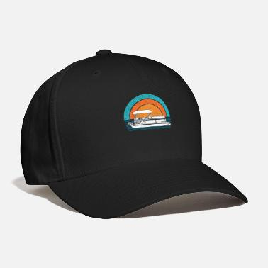 Pontoon Vintage Retro Pontoon Captain Pontoon Boat Pontoon - Baseball Cap