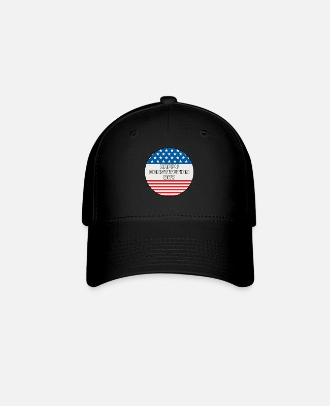 Madison Caps & Hats - Citizenship Day Happy Constitution Day Naturalizat - Baseball Cap black