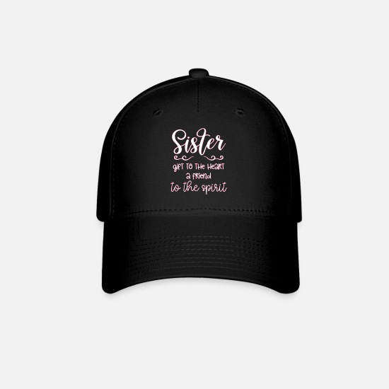 Gift Idea Caps - Sister - Baseball Cap black
