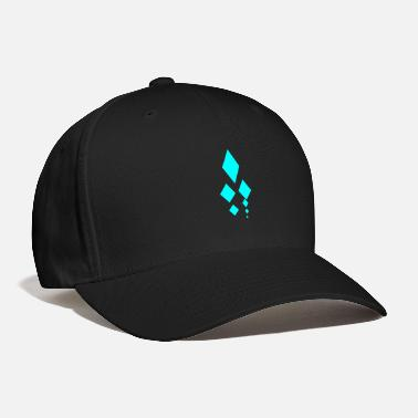 Cyan Diamonds - Cyan - Baseball Cap