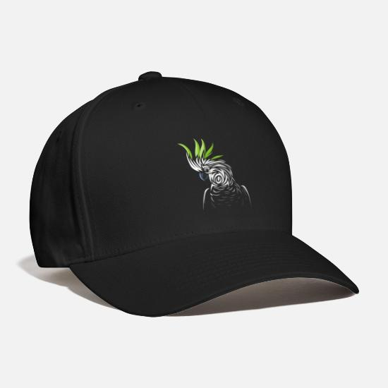 Tribal Caps - Tribal parrot - Baseball Cap black
