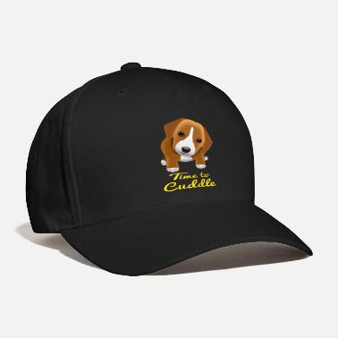 Dog Time to Cuddle , little dog wants to hug - Baseball Cap