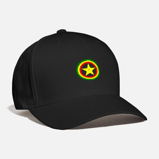 Rasta Caps - Captain rasta - Baseball Cap black