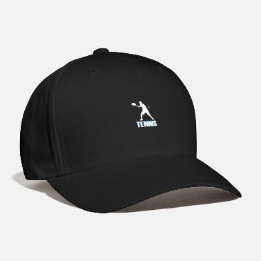 Tennis with colored font - Baseball Cap