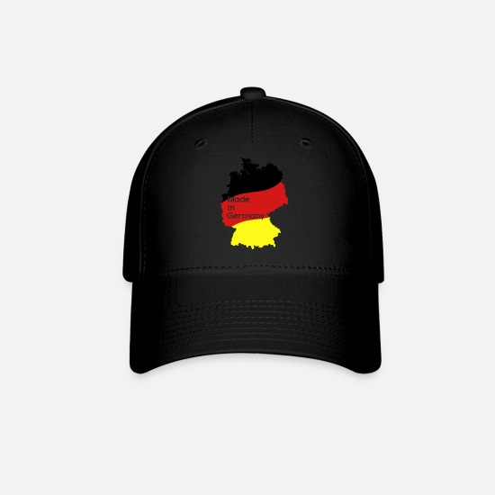 Germany Caps - Made in Germany - Baseball Cap black
