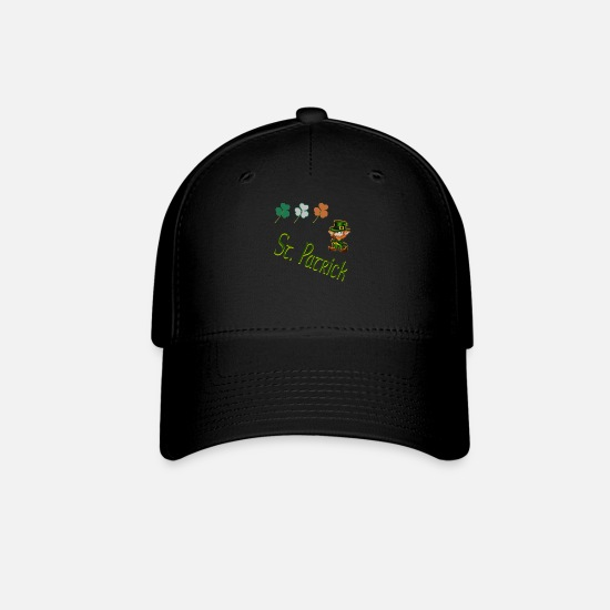Irish Caps - saint patrick - St. Patrick's Day - Baseball Cap black