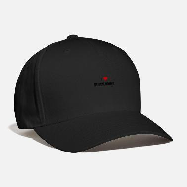 Black I love black women - Baseball Cap