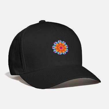Heyday Heyday Yoga Meditation Mandala Flower Power Summer - Baseball Cap