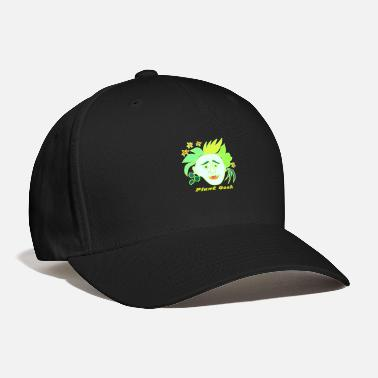 Green Text Plant Geek, Green Text - Baseball Cap