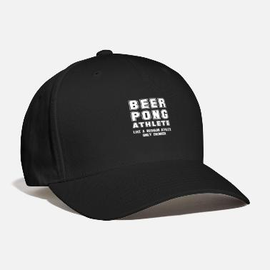 Funny Beer Pong Funny Beer Pong Player Beer-Pong College Party - Baseball Cap