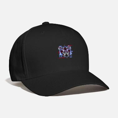 Japan bear head face retro - Baseball Cap