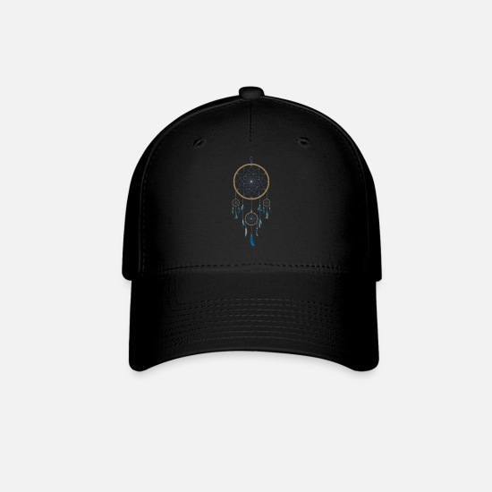 Dream Caps - dream catcher - Baseball Cap black