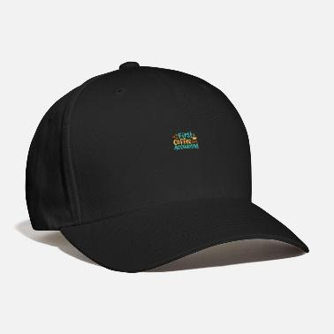 Credit First Coffee Then Accounting - Baseball Cap