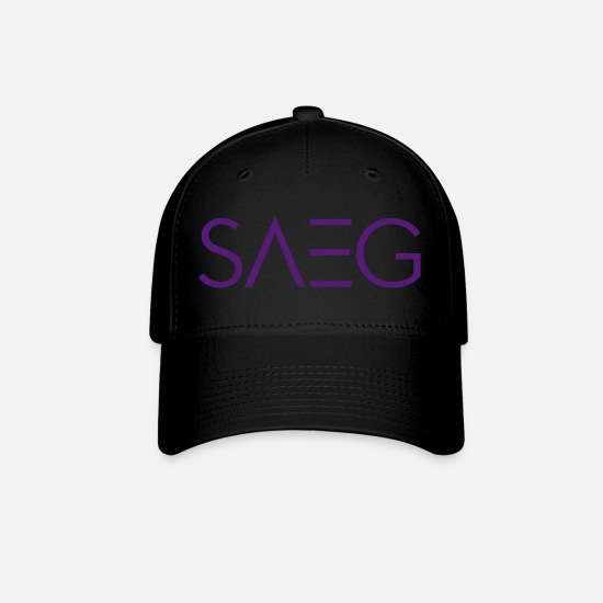 Name Caps - SAEG (NAME ONLY) - Baseball Cap black