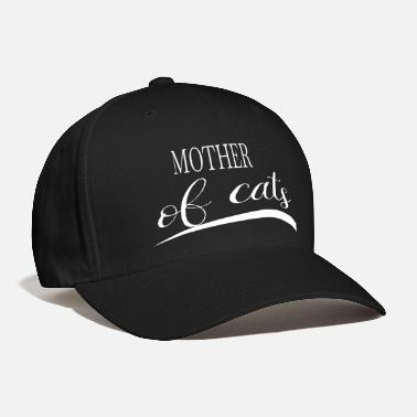 Not Allowed animals mommy father cat owner dad black jack - Baseball Cap