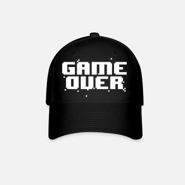 Game Over Pixel Text Trucker Cap  4ede6f018fea