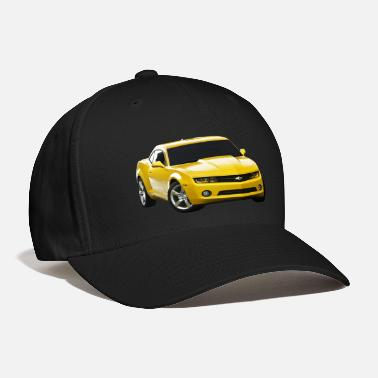 Yellow YELLOW CAMARO - Baseball Cap