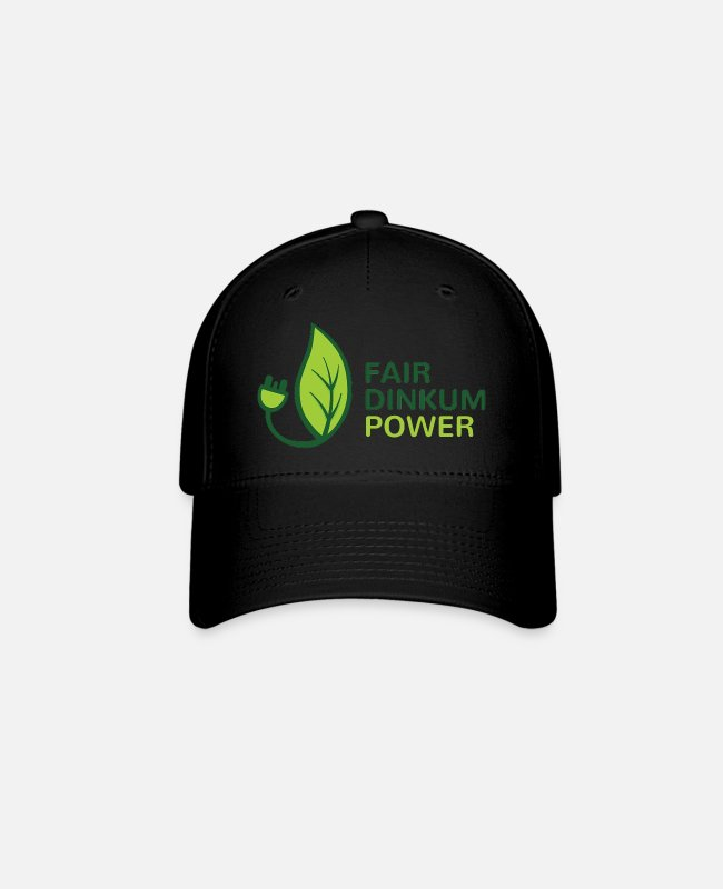 Fairy Tale Figure Caps & Hats - Fair Dinkum Power merch - Baseball Cap black