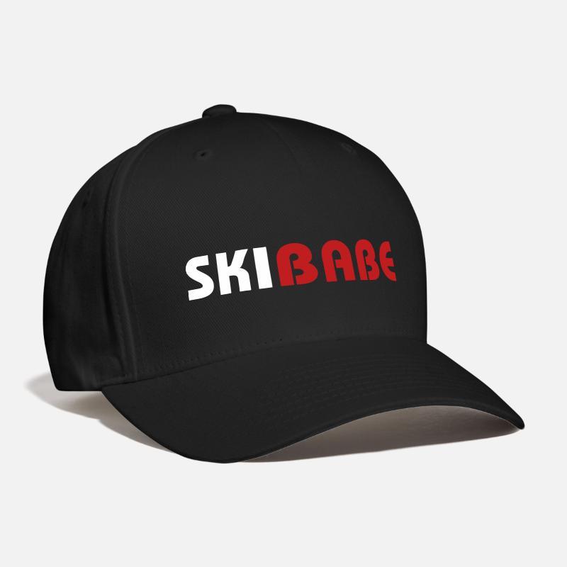 Babe Caps - Ski Babe - Baseball Cap black 9aafb32e81e