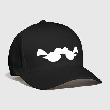 love birds shape simple - Baseball Cap