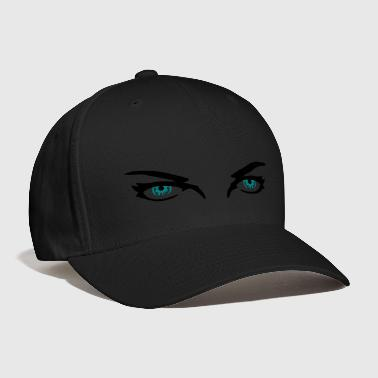 Cat Eye Eyes, Blue Eyes - Baseball Cap