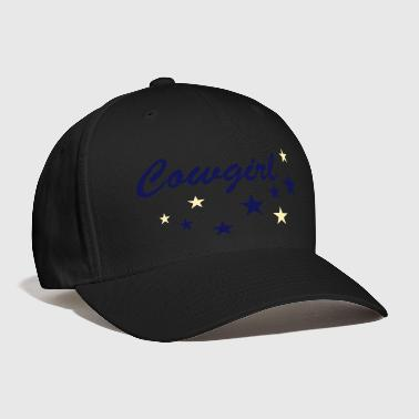 Sliding Stop Cowgirls with stars - Baseball Cap