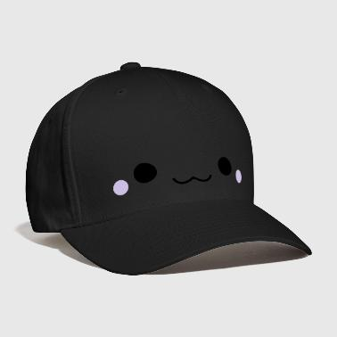 Cute emoticon face - Baseball Cap