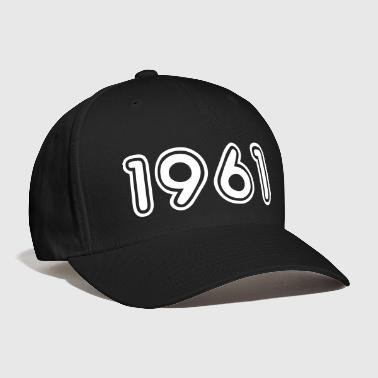 1961, Numbers, Year, Year Of Birth - Baseball Cap