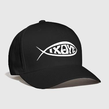 Jesus Fish - VECTOR - Baseball Cap