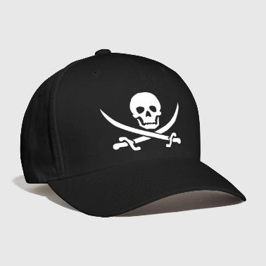 pirate skull saber - Baseball Cap