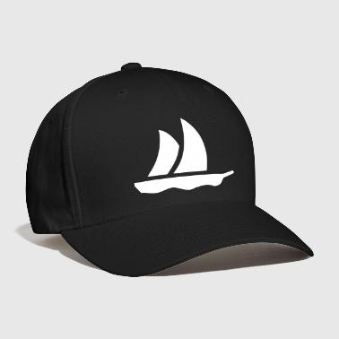 sailboat (1c) - Baseball Cap
