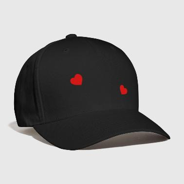 two hearts - Baseball Cap