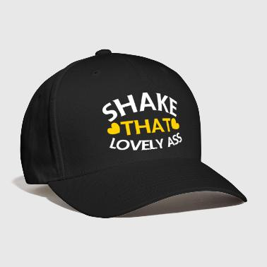 shake that lovely ass! with love hearts - Baseball Cap