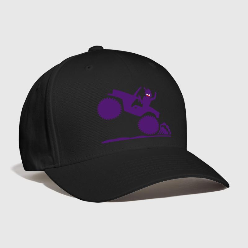Jeep Gas It Stickman 2 small image - Baseball Cap