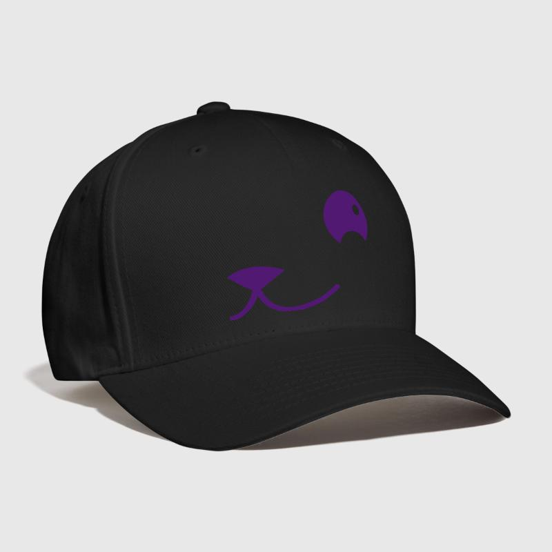 side of cat or teddy or puppy face kawaii - Baseball Cap
