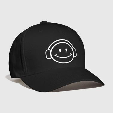 DJ Happy Face - VECTOR - Baseball Cap