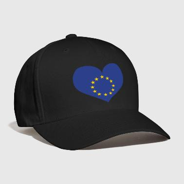 Europe Heart; Love Europe - Baseball Cap