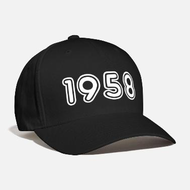 Year Of Birth 1958, Numbers, Year, Year Of Birth - Baseball Cap