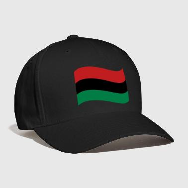 Red, Black & Green Flag - Baseball Cap