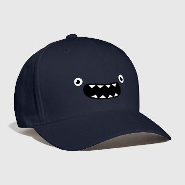 Funny Monster Face - Baseball Cap