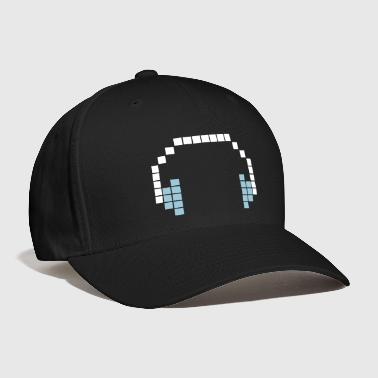 Bit 8 Bit Headphones, Pixel Headphones - Baseball Cap