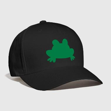 simple squat frog - Baseball Cap
