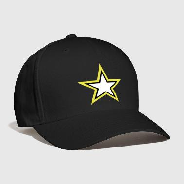 Army Star U.S. military Logo in 3 Colors - Baseball Cap
